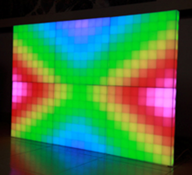 Led Rgb Dmx 512 64 Pixel Led Display Panels 500mm X