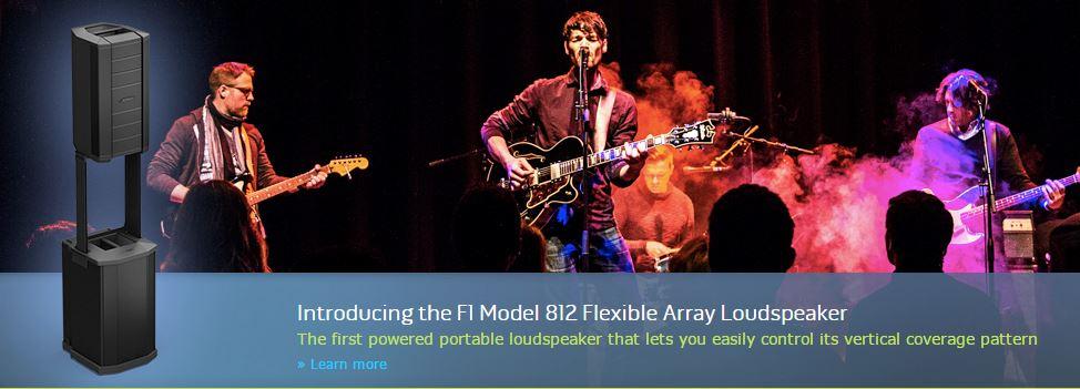 Bose F1 Loudspeaker System 2000W