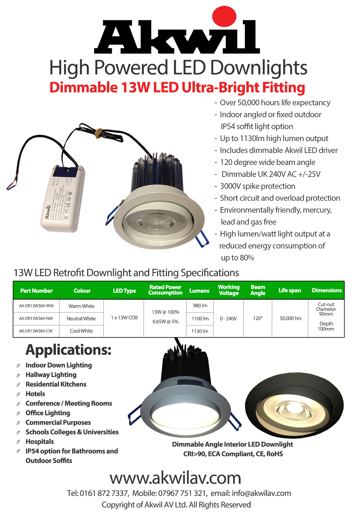 0 10v Dimming Led Downlight Wiring Diagram Auto Electrical Uk Photocell
