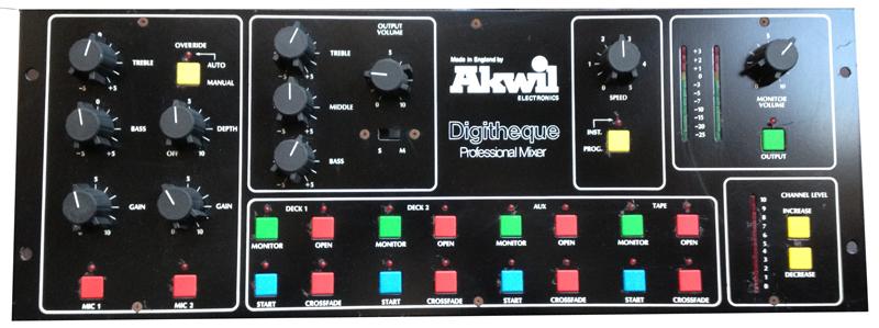 Akwil Digitheque Mixer