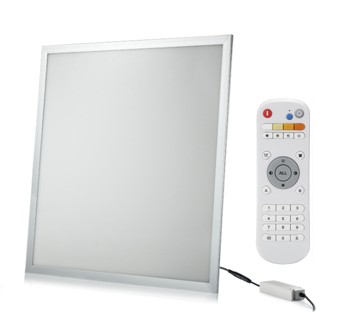cct colour temperature controlled led lighting panel 40W wireless control remote and panel