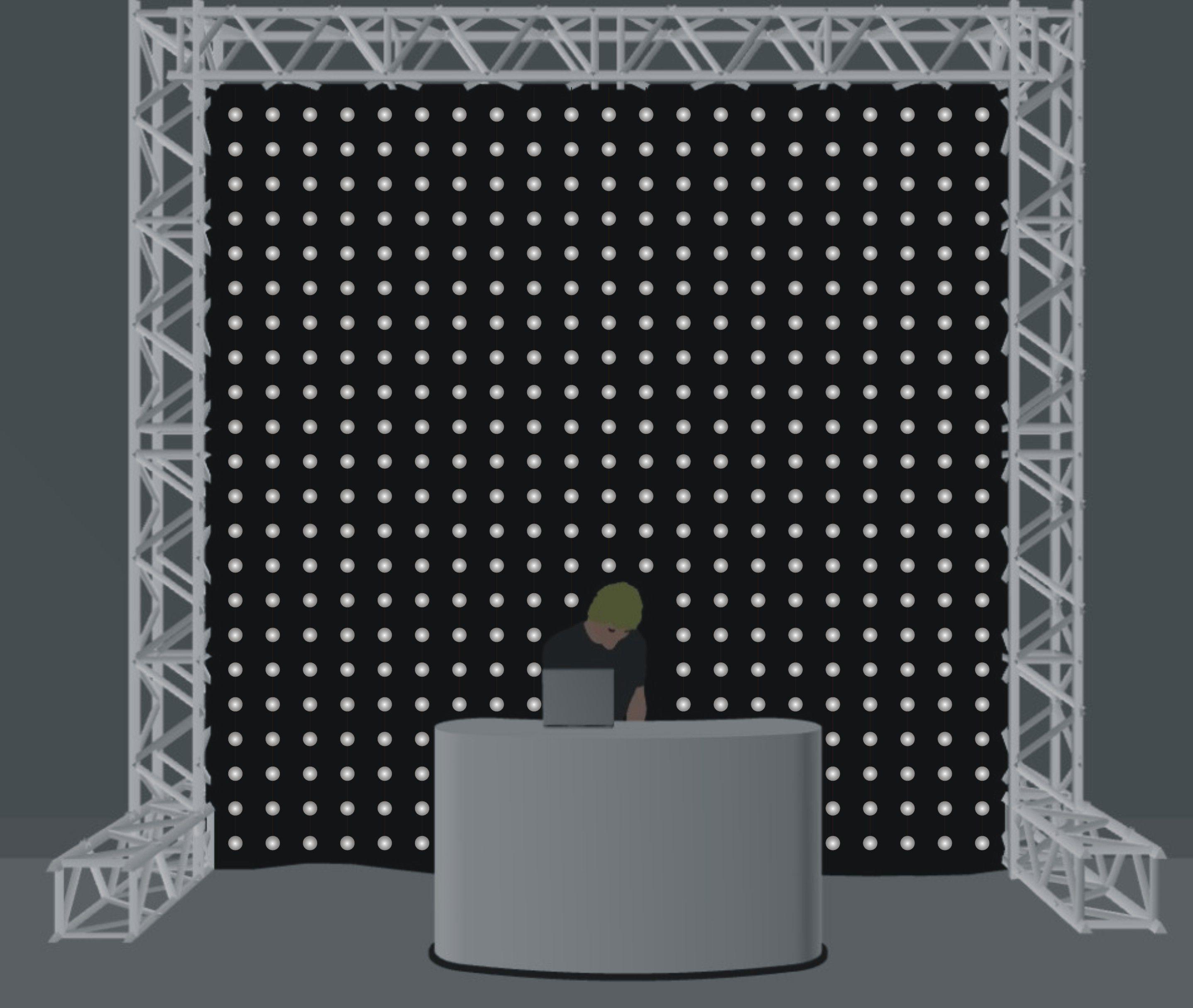 RGB LED Pixel Ball System Install Setup