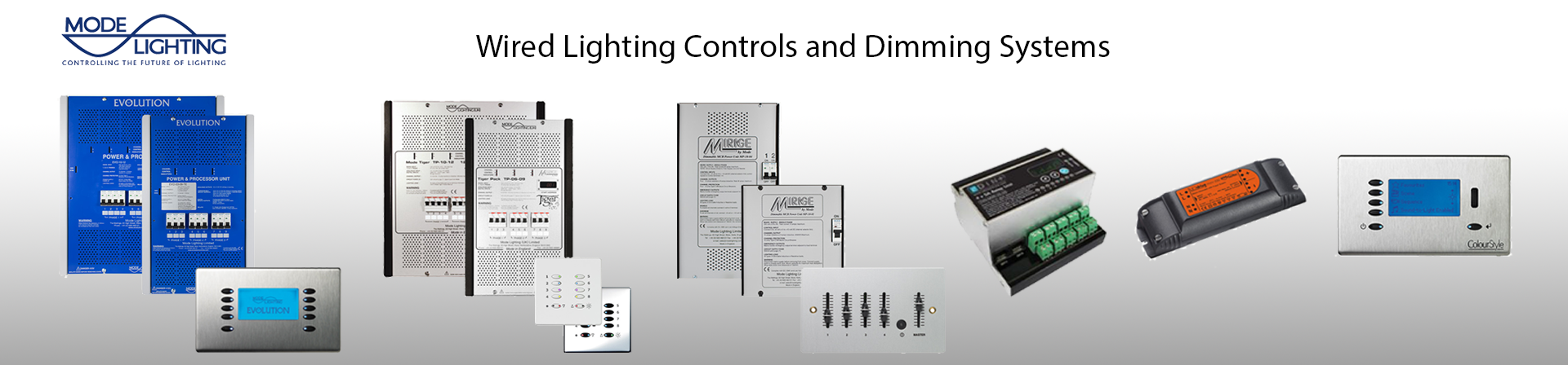 Mode Lighting Dimmer Pack Solutions
