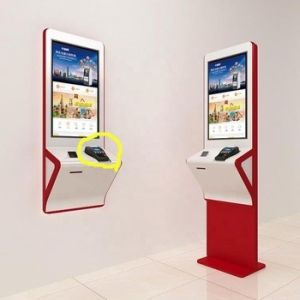 Akwil 55 Inch LED Touch EPOS Kiosk Free Standing or Wall Mount Option
