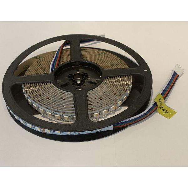 Best RGBWW LED Strip 5m/reel 480pcs LEDs 24V DC 100W 20 W/m RGBW 6000lm with 3M Adhesive
