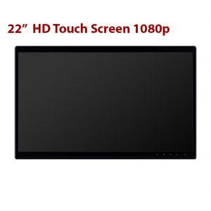22 Inch HD Touch Screen 1080p 1920 x 1080px DVI XVGA Inputs
