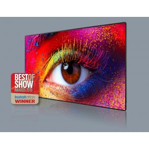 "Optoma 130 Inch LED TV FHDQ130 Fully optimised 130"" all-in-one QUAD LED display"