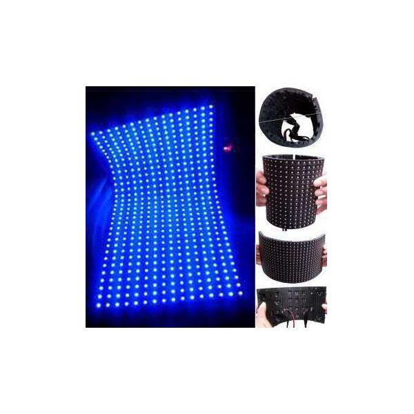 AK-10F Akwil P10 10mm Pitch LED Display Flexible LED Display Panel Solutions 320mm x 160mm