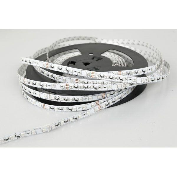 LED Strip 20m per reel 24V DC 288W 1200x SMD 5050 LEDs Silicone FlexiRibbon Strips 14.4 W/m