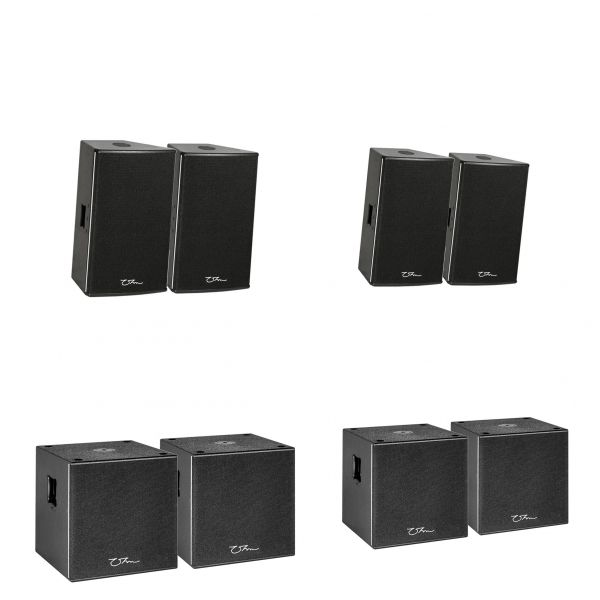 OHM BRS-18 1600W Subwoofer Speaker Single 18 Inch 8 ohm Reflex Loaded