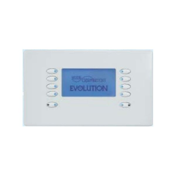 Mode EVO-LCD-55-WHI Evolution LCD Control - White (10 White Buttons, Twin Gang, excluding Fascia Plate)