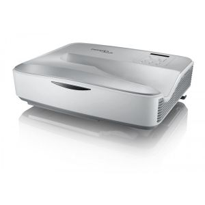 Optoma ZH420UST in White 4000 lumens 1080p Ultra Short Throw Laser Projector 20000hrs Life maintenance-free Laser