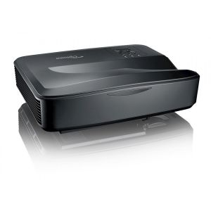 Optoma ZH420UST in Black 4000 lumens 1080p Ultra Short Throw Laser Projector 20000hrs Life maintenance-free Laser