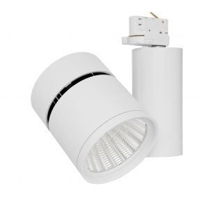 Verbatim LED Dimmable Track Light 28W 3000K 2400lm 40 Degree White
