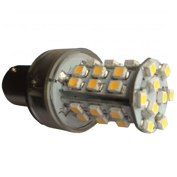 26mm Dimmable 240V 2.5W LED BA15D SBC or BA15S or E14 39 x 3528 LED Corn Light Bulb 240lm BA15 or B15 Equivalent to 25W