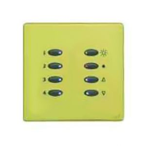 Mode SceneStyle2 Fascia SCE-02-PBR-44 (8 Buttons, Single Gang, MK Aspect Polished Brass)
