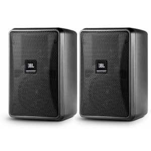 JBL Control 23-1L Black Pair 8 Ohm Speakers