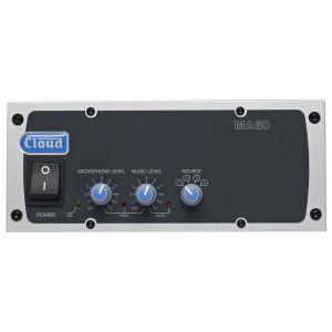Cloud MA60 Mixer Amplifier 60W Line 4 Ohm Output - Optional 100V Line Transformer