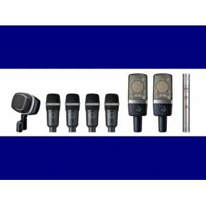 Drumset Premium Premium 8 piece set of drum microphones