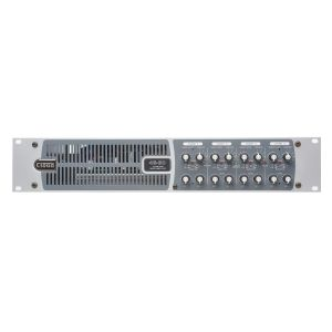 Cloud 46-80 - 4 Zone Mixer Amplifier 6 Music Inputs 2 Mic Inputs with 4 x 80watt, 4 Ohm Outputs