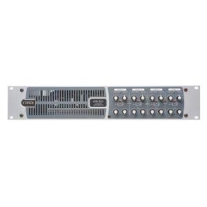 Cloud 46-80 - 4 Zone Mixer Amplifier 6 Music Inputs 2 Mic Inputs with 4 x 80watt, 4 Ohm Outputs