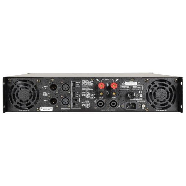 Citronic PLX2800 Power Amplifier 2x 1050W rms at 4 Ohm with Clip Limiter
