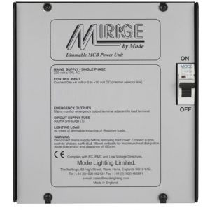Mode Mirage Dimmable Power Unit SP-20-01 (1 Channel of 20 Amps, Inductive 20 Amps)