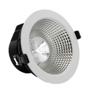 Verbatim LED Recessed Downlight INDIRECT 220mm 20W 3000K 1650lm 45° White