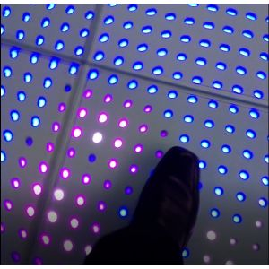 Akwil Interactive LED Dancefloor Complete System 500mm x 500mm Panels Capacitive Touch Floor Video Display