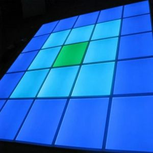 Single Pixel LED Dance Floor Modules Configurable System 500mm x 500mm RGB Pixel Colour Panel Floor Tiles