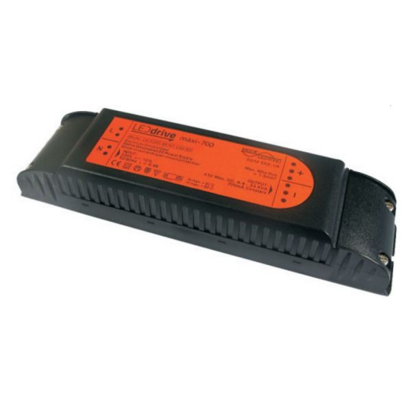 Mode LEDdrive Midi, Constant Current LED Driver LD-0600-48-HT-230-RD (600mA, Vf 18 to 48, Mains Dimmable)