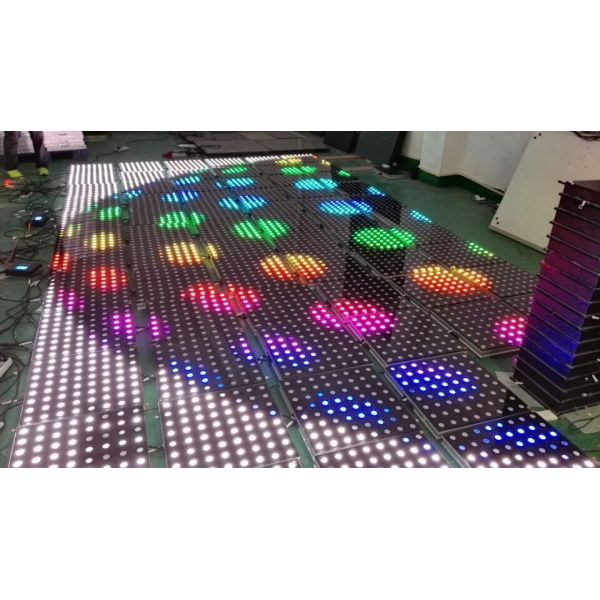 Single Pixel Interactive and DMX LED Dance Floor Modules