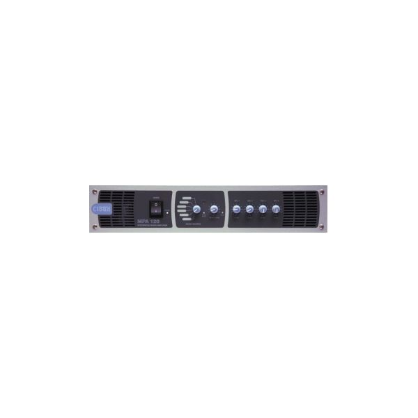 Cloud MPA120MK2 - Mixer Amplifier 120W 6 Line Inputs 4 Mic Inputs Single Zone with remote Volume and Select Facility Port