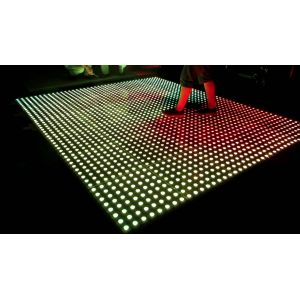 64 Dot Pixel LED Dance Floor System 500mm x 500mm Floor Panels Modules Controllers and Power Supplies Included