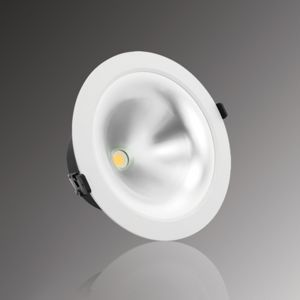Verbatim LED Recessed Trumpet Downlight 220mm 20W or 30W  3000K or 4000K 25° or 40°