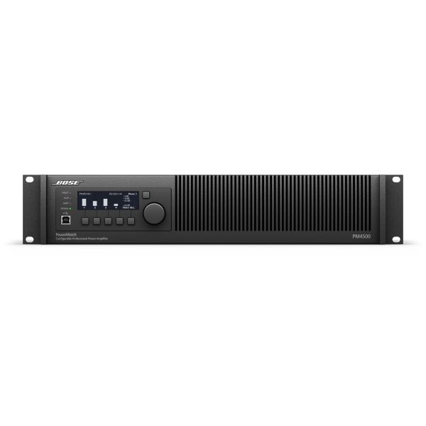 Bose PowerMatch PM4500N 4x 500W Amplifier Network Version