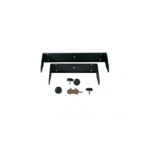 OHM KS-1 Wall or Ceiling Mounting Cradle, Complete with Handwheels in White