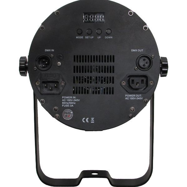 Par 64 100w LED UV Light COB Parcan with 80° or 50° Refactor