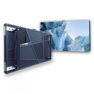 UHD 1.8mm Pitch Indoor 4k LED Display Screen Front Loading Panel System 600mm x 337.5mm x 42mm