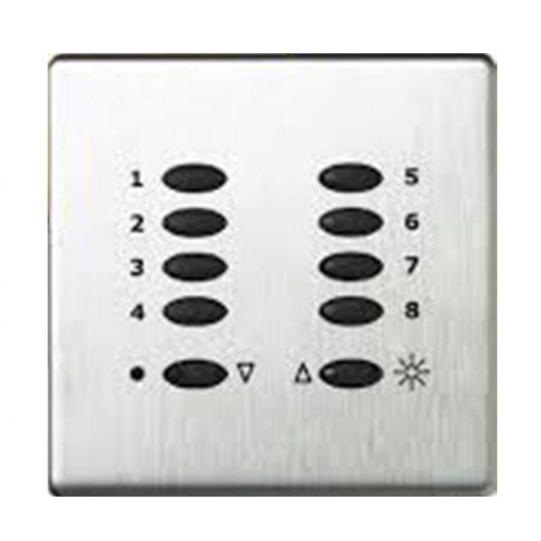 Mode Evolution Switch Plate Fascia EVO-S-POC-** (Single Gang, MK Aspect Polished Chrome)