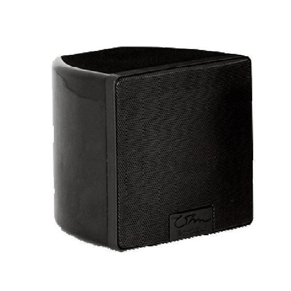 OHM BOOTIQUE SATELLITE BLACK 4.5 Inch Full Range Trapezoidal Loudspeaker in Black Finish