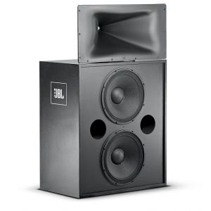 Complete JBL 3722 Bi-amp Ready Cinema Speaker High-frequency and Sub-Woofer Pack Two-Way Screen Array Speaker