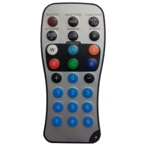 Remote for Battery Powered LED Stage Lighting