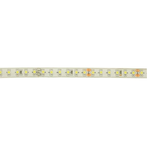 Akwil 2700k Warm White 120 LED per m 24V High Output LED Strip Tape 5m Reel 9.6W per m