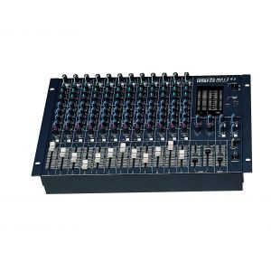 Inter-M MX-1243 12CH Input 3 Band EQ 4 AUX Outputs Mixer PFL AFL Phantom Power