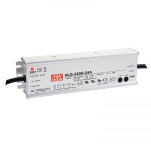 Meanwell HLG-240-24A 240W 24V Constant Voltage Power Supply with Vo and Io Attenuation