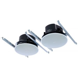 Bose DesignMax DM6C 100W 100V Line Ceiling Mount Speakers in White Pair