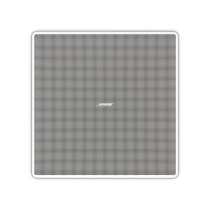 Bose EdgeMax EM90 80W 100V Line or 8 Ohm Corner Flush Ceiling Mount Loudspeaker in White
