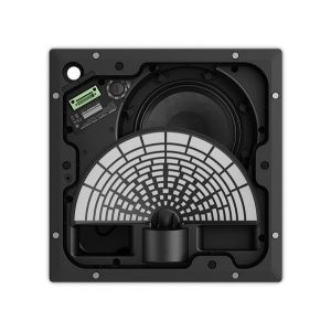 Bose EdgeMax EM180 80W 100V Line or 8 Ohm Flush Wall Mount or In-ceiling premium speaker in Black - Each