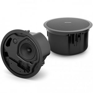 Bose FreeSpace FS4CE 40W 100V or 8 Ohm IP55 Weather-proof In-Ceiling loudspeaker Pair in Black